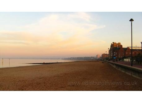 Portobello beach  (5 minutes away)