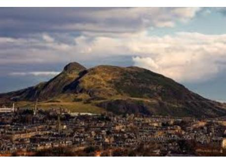 Arthur's Seat (in the centre of the city)