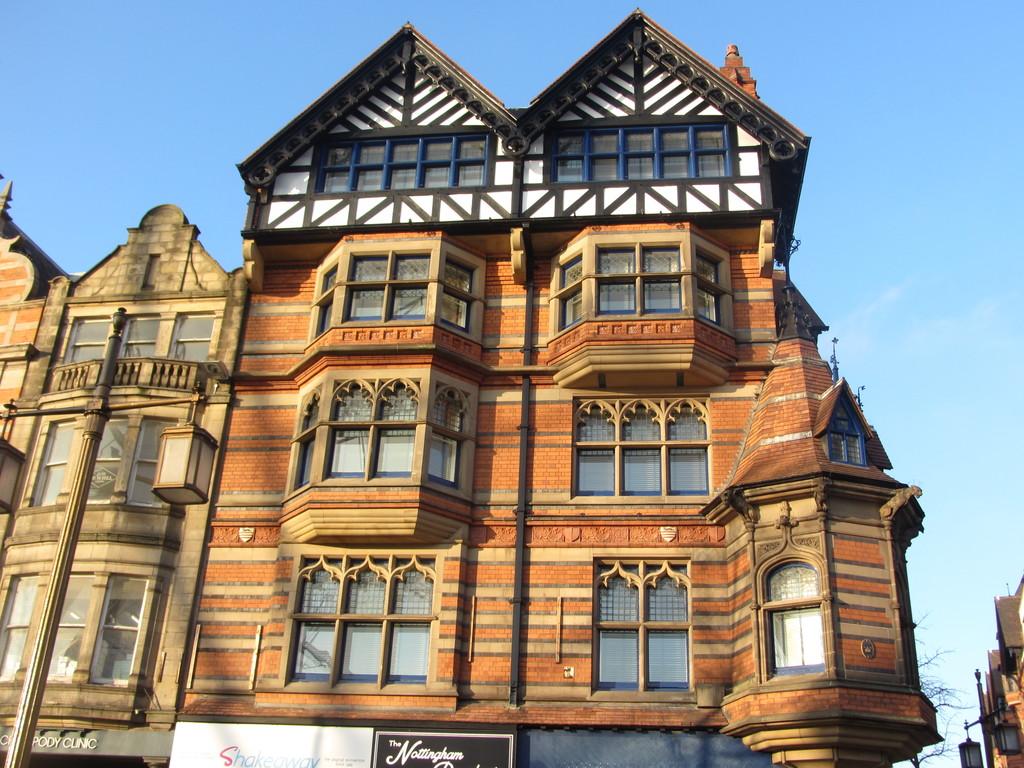 Watson Fothergill architecture, Nottingham
