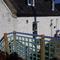 Raised wooden balcony