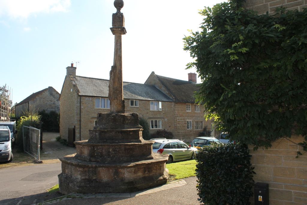The Village 12th century preaching cross