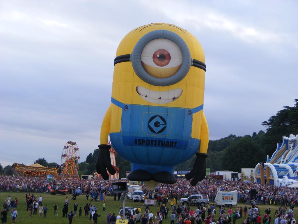Stuart at Bristol balloonfest