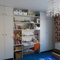 Children's bedrooms are spacious and have bespoke wardrobes and desks.