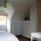 Master bedroom ensuite in attic with beautiful Victorian features
