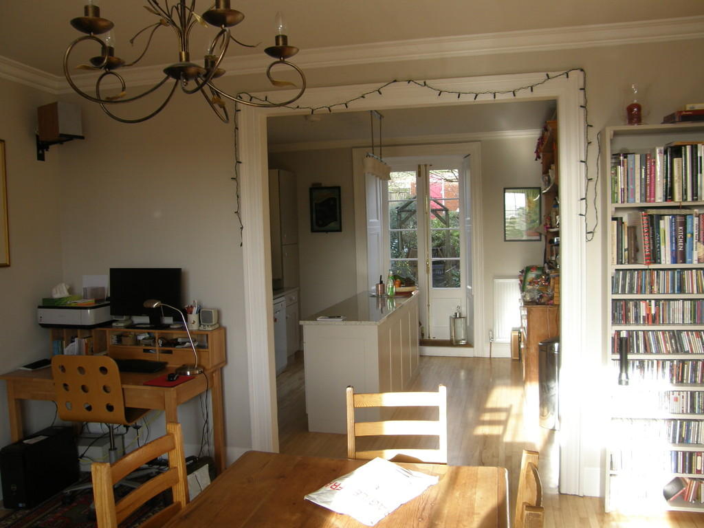 Bristol, dining room/kitchen