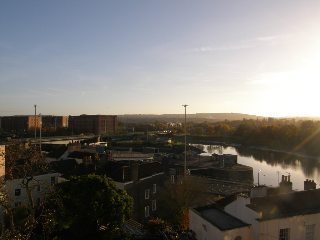Bristol, view from top floor