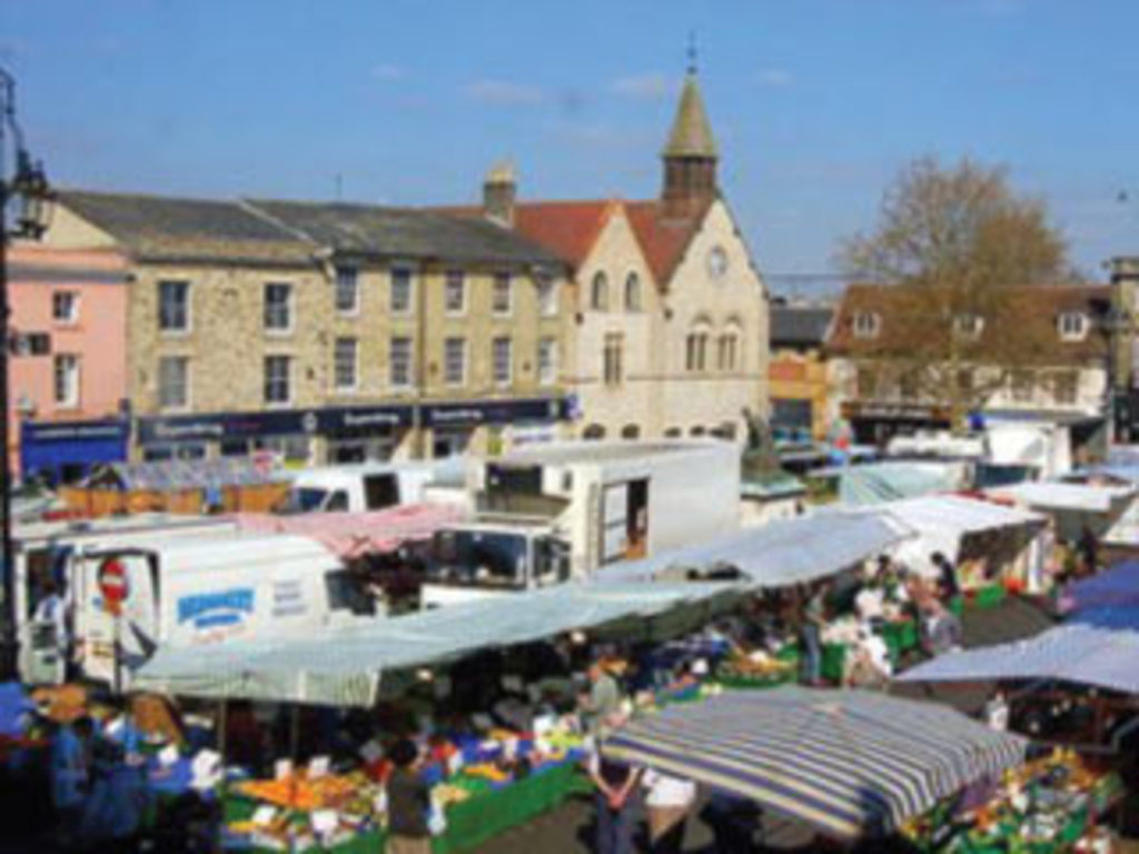 Bury St Edmunds twice weekly market