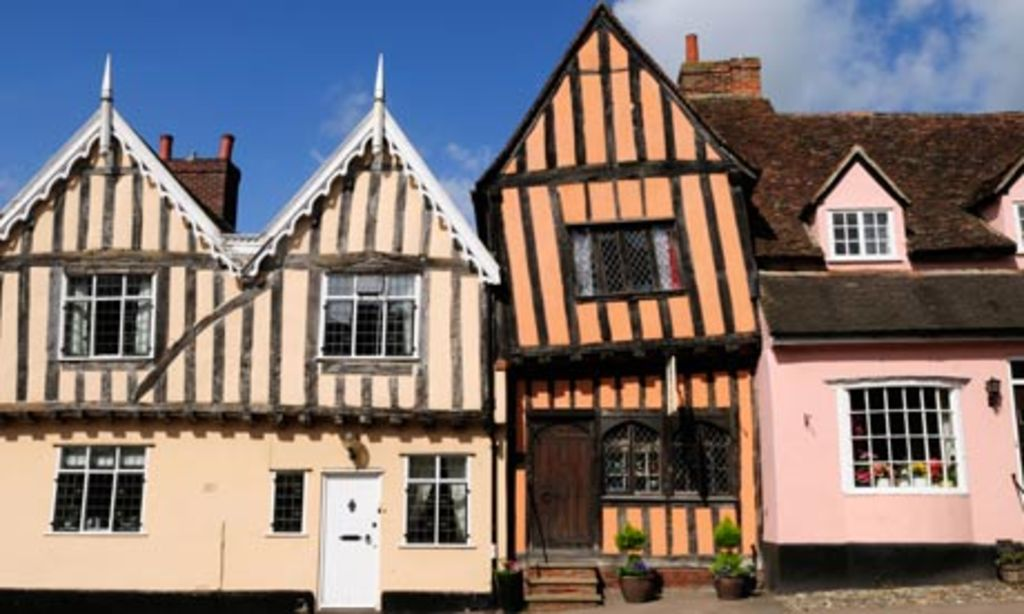 Lavenham (23 kms) Suffolk One of England's finest medieval village and food capital of Suffolk