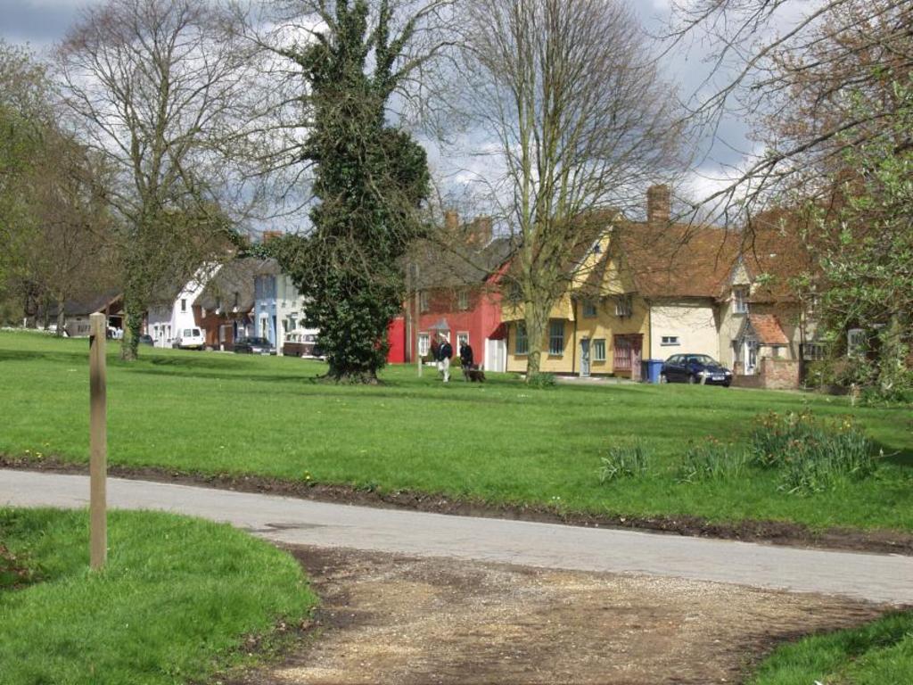 Hartest village nr. Bury St Edmunds Suffolk