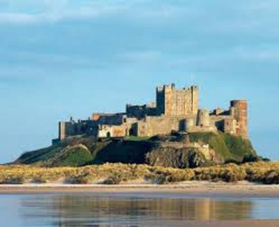 Bamburgh Castle, 30 minutes from house