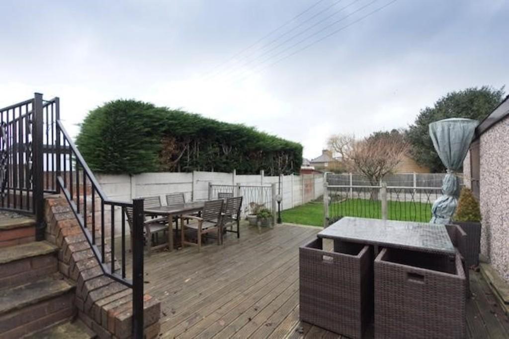 Patio and back garden