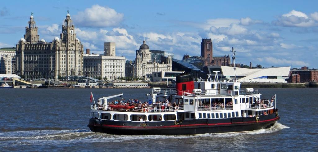 Ferry cross the Mersey - Liverpool