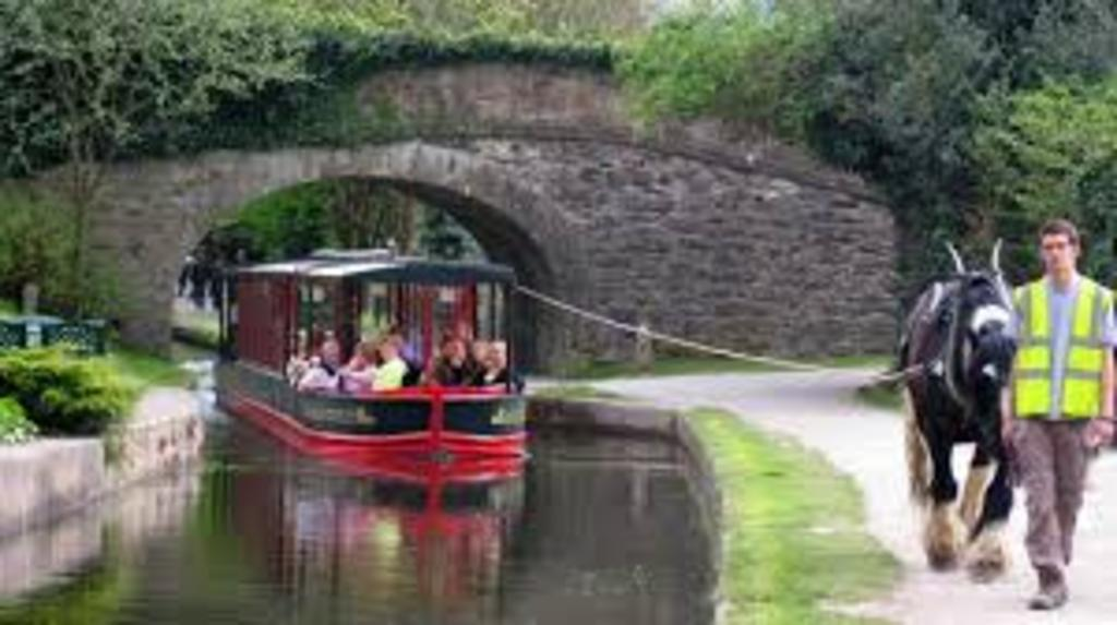 Llangollen Horse drawn boat