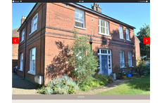 Our home is one of 4 flats in this lovely old mansion house. We have a separate entrance which you see on the photo