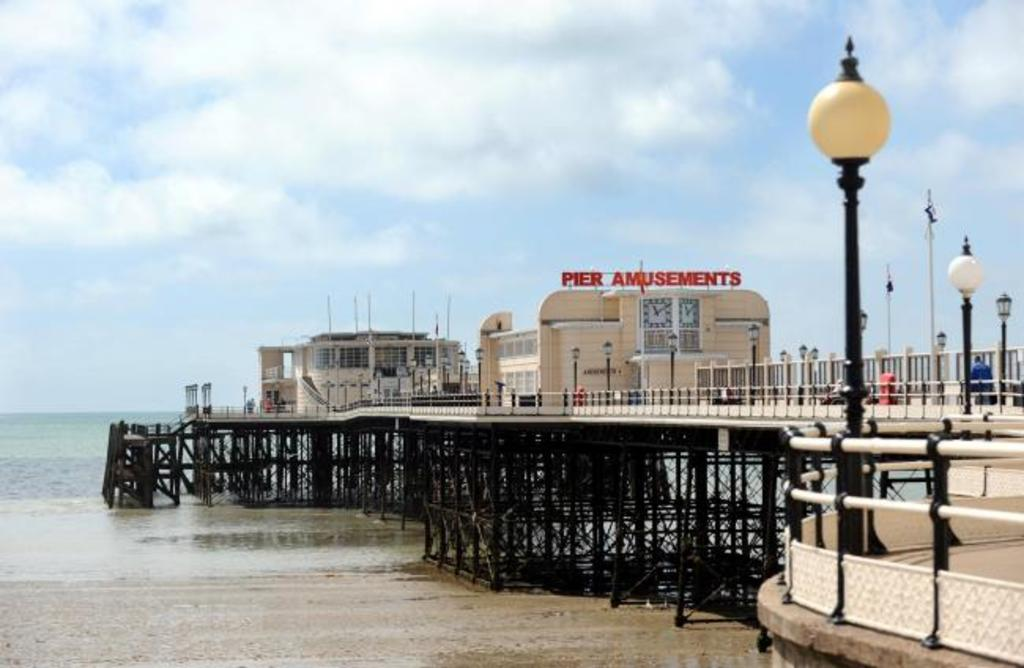 Amusement arcade on the pier