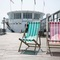 Relax in a deck chair on the pier!