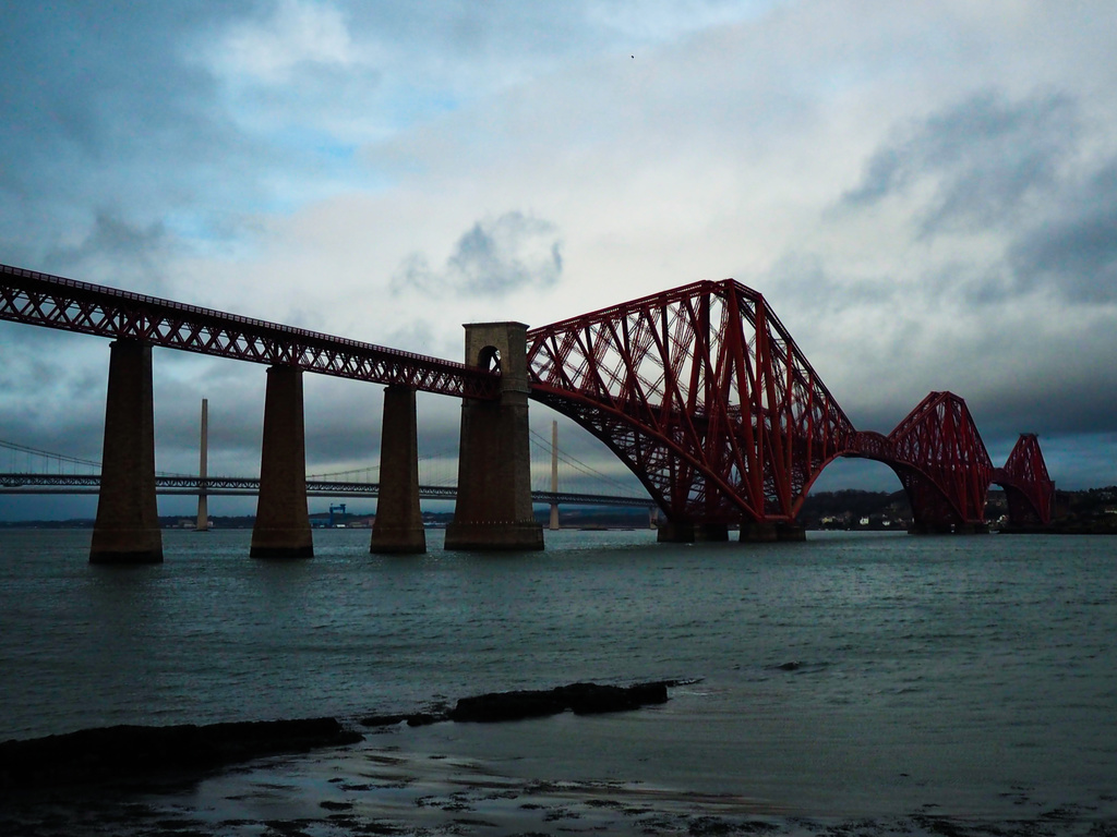 Famous Forth Rail Bridge