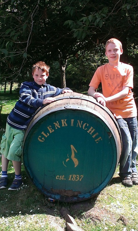 Local Whisky Distillery at Glenkinchie