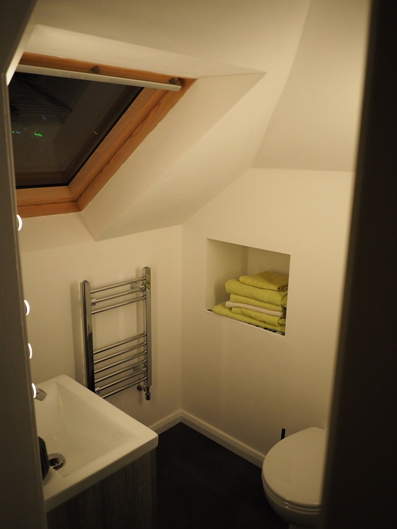 Upstairs Room - Shower and EnSuite