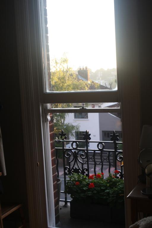 Small balcony in main bedroom