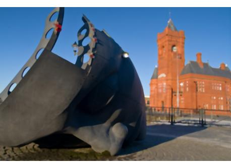 Historic and revitalised Cardiff Bay