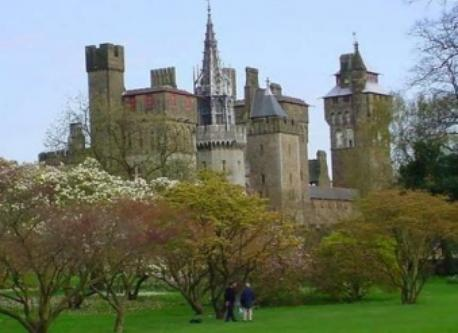 Cardiff Castle, one of many castles in Wales