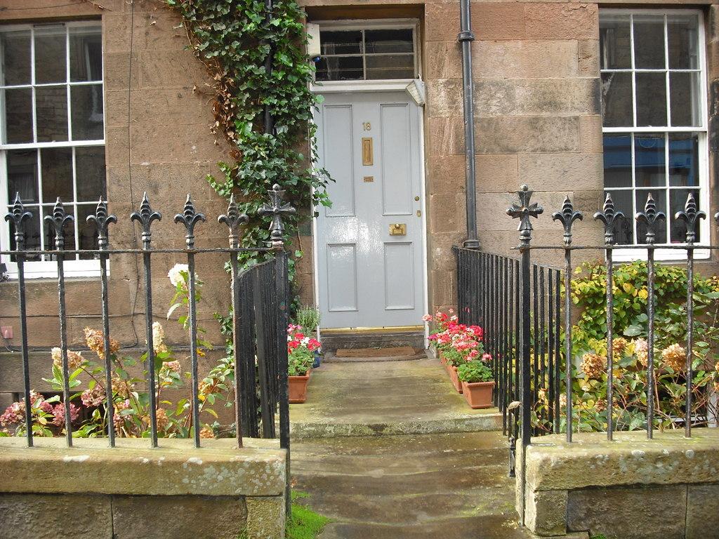 front door from street