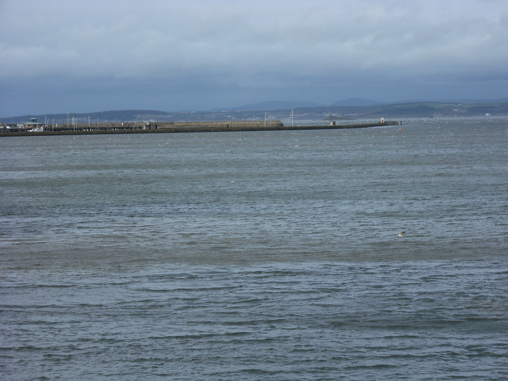 the Forth estuary just outside the house