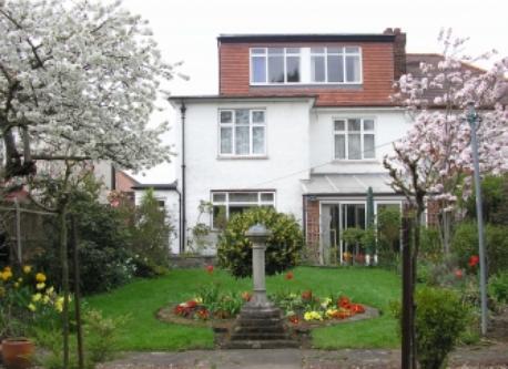 Back of house & garden