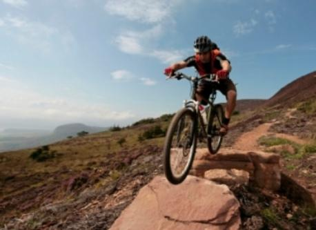 mountain biking in the Angus Glens