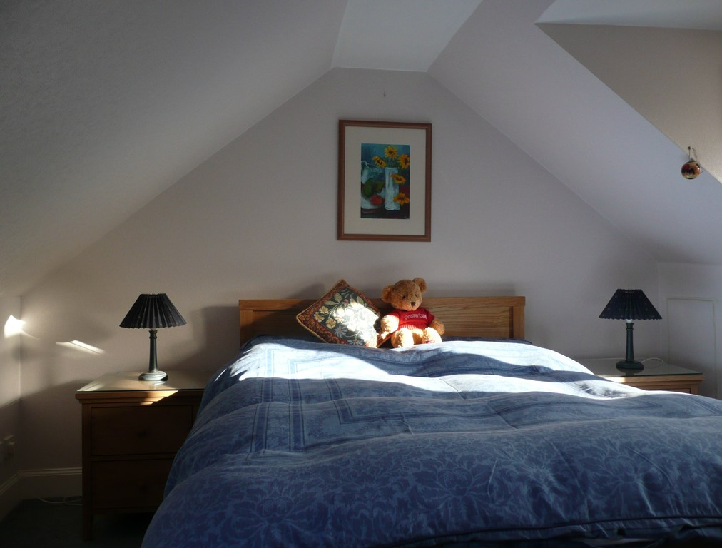 Bedroom 2, with double bed