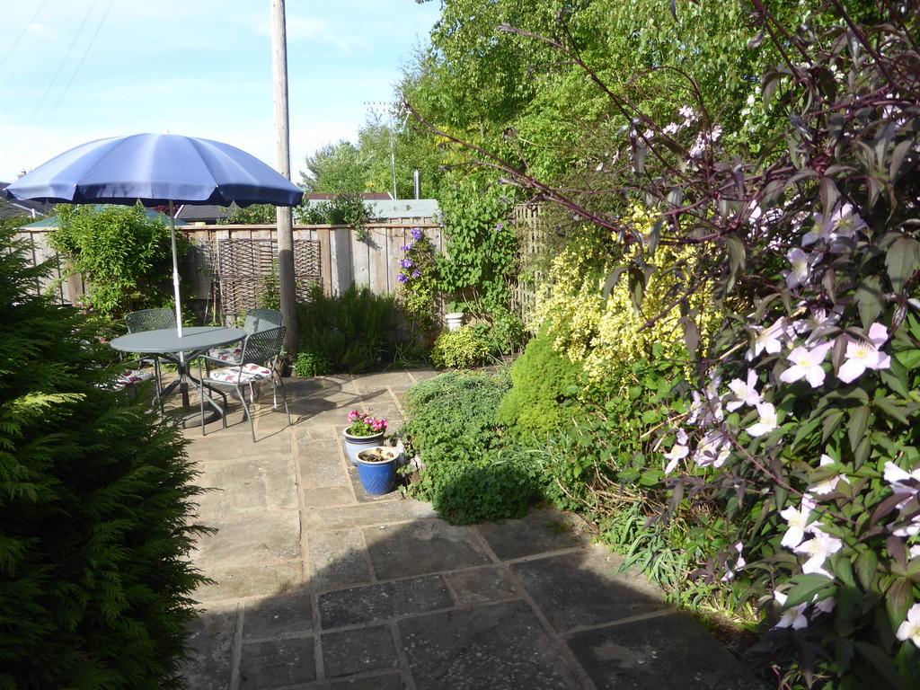 Patio in garden