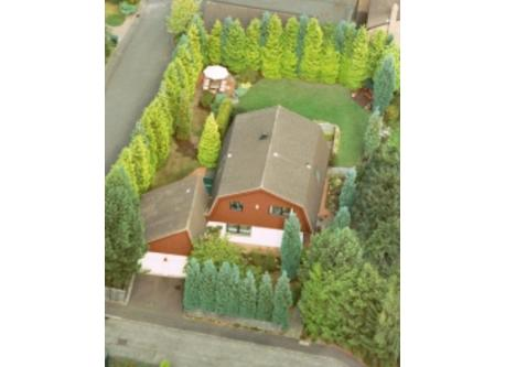 Aerial view of our home 2007