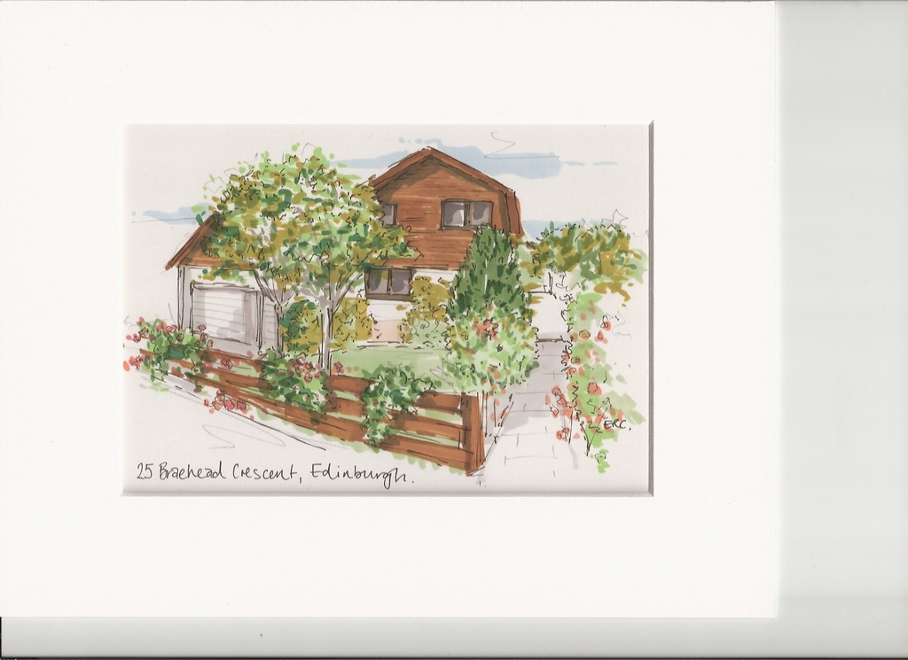 Sketch of our home 2014