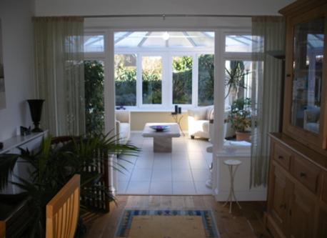 Conservatory from middle room.