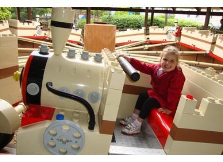 Legoland is 15 minutes drive