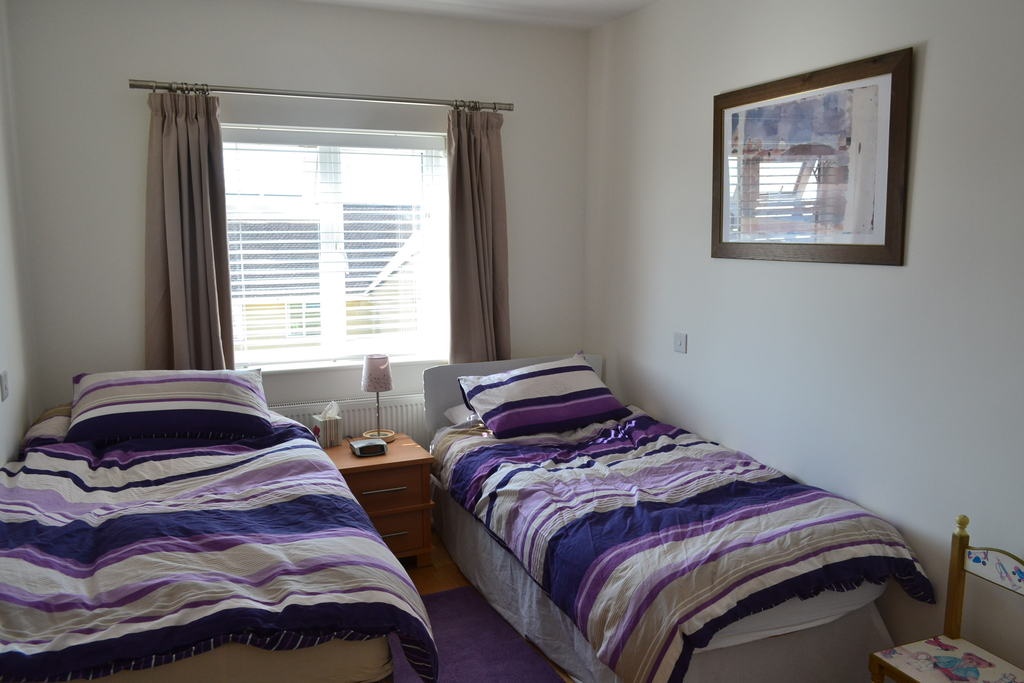 Bedroom No 4 - 2x single beds (both suitable for adults)