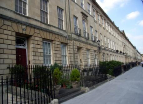Great Pulteney Street  10 mins walk from our house