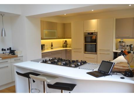 Our large and well-equipped kitchen, great for the keen cook