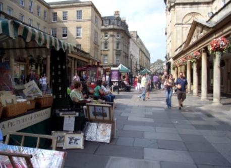 Bath City Centre - 20 mins walk from our house