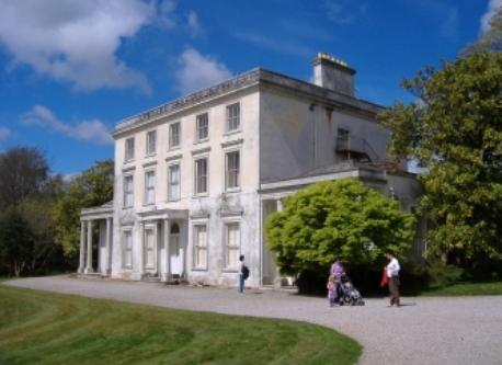 Greenway House, Agatha Christie's home, 20 minutes away by ferry.