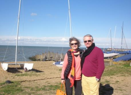 sheila and huw in nearby whitstable