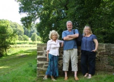 Ian, Angela and Pam
