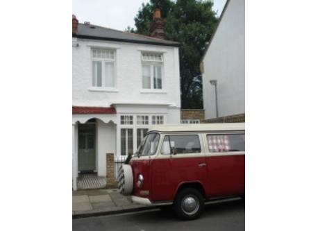 Our 1972 VW camper van. Antique!