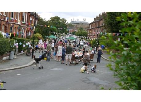 the street party in our road 2011