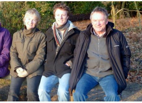 Elaine , Adam our son and Alan