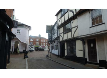 Central Godalming (5 mins walk)