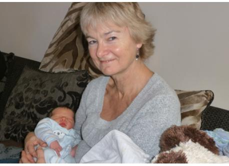Elaine and Grandson Rory