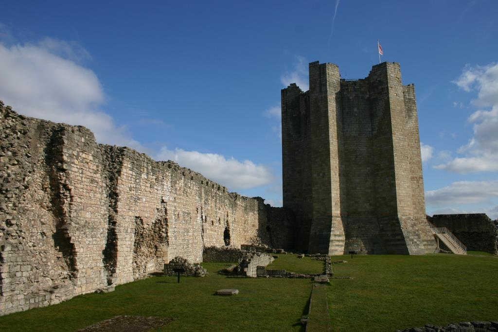12th-cent. Conisbrough Castle