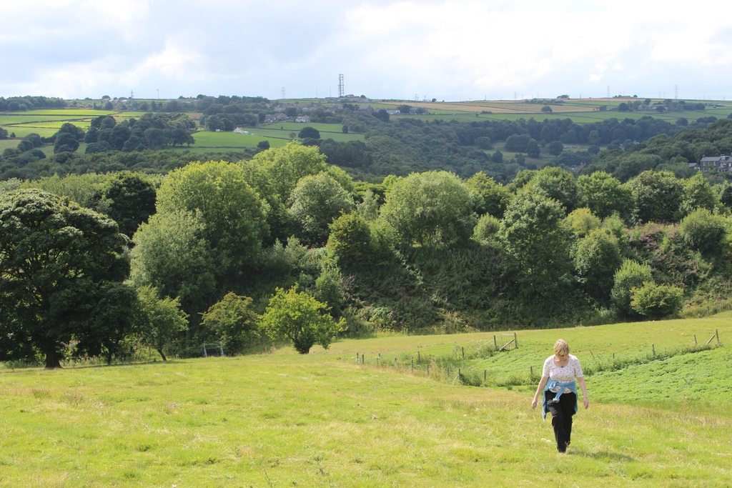 Off the Trans-Pennine Trail, which passes through Penistone.  A couple  of miles from our house
